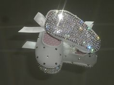 Rhinestone Baby Shoes...