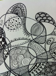All the Whole Heaps: Doodle Drawing