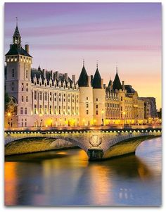 La Conciergerie. the first prison in Paris, when the former palace was given to the Parliament.