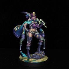 Painted by Carlos Martinez Carlos Martinez, Death, Miniatures, Painting, Painting Art, Paintings, Painted Canvas, Minis, Drawings