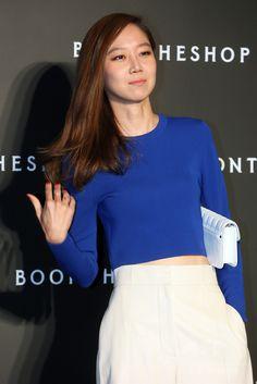 韓国・ソウル(Seoul)の「BOONTHESHOP」清潭(Cheongdam)店で行われた開店記念イベントに臨む、女優のコン・ヒョジン(Kong Hyo-Jin、2014年10月17日撮影)。(c)STARNEWS ▼16Oct2014AFP|BOONTHESHOPの開店イベント、BIGBANGらが出席 http://www.afpbb.com/articles/-/3029455 #Kong_Hyo_Jin #공효진 #孔曉振 ◆Gong Hyo-jin - Wikipedia http://en.wikipedia.org/wiki/Gong_Hyo-jin