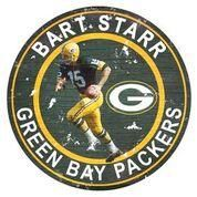 Bart Starr Player Team Circle
