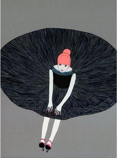Party Dress print by Jennifer Davis @Kelly Porter