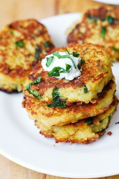 Use squash to make Quinoa + Parmesan Fritters.