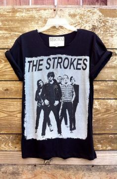 The Strokes Tshirt by MogwaiClubApparel on Etsy, $20.00 SOMEONE GET ME THIS SHIRT AND I WILL MARRY YOU