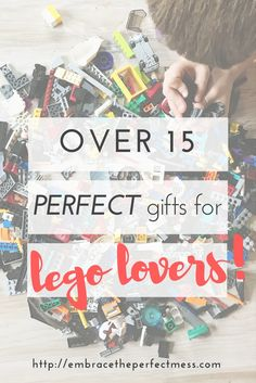 Looking for the best gift ideas for kids who love legos? This is the perfect list for those lego lovers in your life! You can't go wrong with these ideas. #legogiftideas #igiftideasforlegolovers #lego