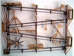 draht art von ernst heye mechanical pinterest kugelbahn murmelbahn und mechanik. Black Bedroom Furniture Sets. Home Design Ideas