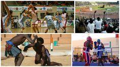 Épreuves sportives - Ves Jeux de la Francophonie de Niamey Niger - 2005