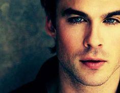 #AhYes #DamonSalvatore #IanSomerhalder #VampireDiaries #Love #BlackHair #BlueEyes #Babe #Dreamy #Rawr #Handsome #ComeToBedEyes
