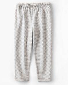 Cropped Cotton Leggings - Girls