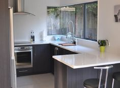 u shaped kitchen designs with breakfast bar for small kitchens