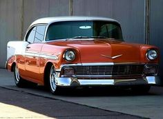 fast shiny objects - 1956 Chevy Classic Hot Rod