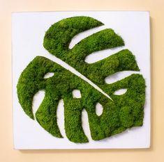 Handcrafted Garden Art + Home Decor Moss Wall Art, Moss Art, Diy Wall Art, Wall Decor, Garden Types, Garden Art, Moss Decor, Balcony Furniture, Outdoor Furniture