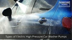 Yes, pump plays an important role in high pressure car washer. Either it is electrical or fuel generated, its always pump that decides the pressure of the car washer. Car Washer, Washer Pump, Car Wash Equipment, Automatic Car Wash, Washer Machine, Car Vacuum, Pump Types, Drive Shaft, Electric