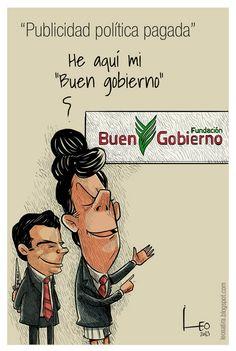"""""""Publicidad política pagada"""". """"Publicidad política pagada"""", caricatura de Leonardo Parra."""