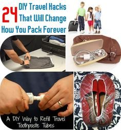24 Travel Hacks That Will Change How You Pack Forever