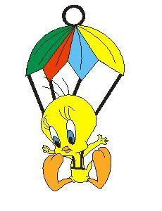 LTB176 Tweety Parachute