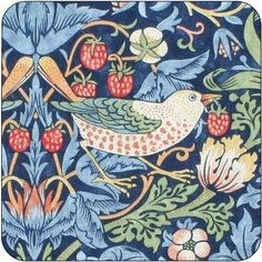 Shop online for 'Pimpernel William Morris Strawberry Thief Blue Coasters Set of 6' at Louis Potts. View our great selection of products with Free standard delivery available.