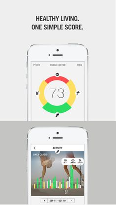 Check out your 'health snapshot' throughout the new year with Nudge 4.0