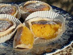 Receita Sobremesa : Pastéis de feijão (sem lácteos) de Saltamontes