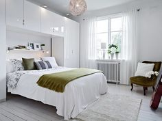 Epic 15 Comfortable Small Bedroom Design Ideas For A Narrow Space The bedroom is the most important resting place. But, what if you have a narrow bedroom design? Thinking about the area for storage, maximizing the fu.