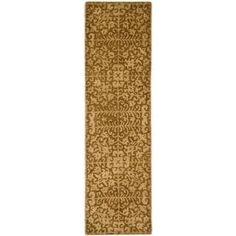 Safavieh Handmade Antiquity Birtie Traditional Oriental Wool Rug (Gold/Beige x Yellow Traditional Area Rugs, Oriental Pattern, Rug Cleaning, Beige Area Rugs, Rug Runner, Colorful Rugs, Rug Size, Size 2, Wool Rug