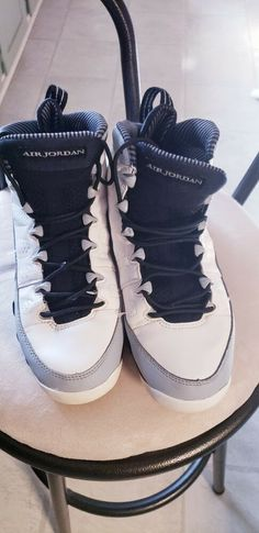 195f480956f Youth Air Jordan Basketball Shoes Black Sz 12 in good condition see pics  for details.