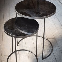 Notre Monde Nesting Side Table Set Of 2 | Houseology