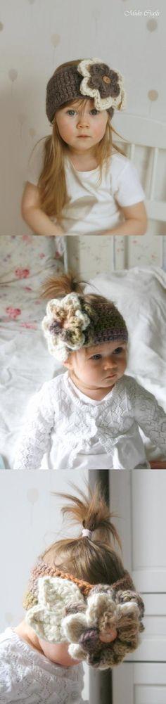 Sade headband crochet pattern
