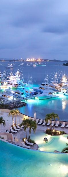 Scrub Island Resort and Marina, Tortola, British Virgin Islands.