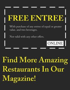 Community Magazine - great San Diego food coupons