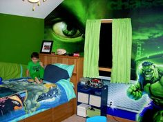 Elegant Sensational Marvel Bedroom Décor In A Feasible Range: Hulk Bedroom Décor ~  Latricedesigns.com Bedroom Inspiration | Latrice Designs Home U0026 Garden ...