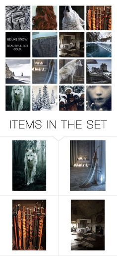 """""""""""I want to fight for the side that fights for the living."""" ~ Jon Snow"""" by miky94 ❤ liked on Polyvore featuring art and bottvshow2b1"""