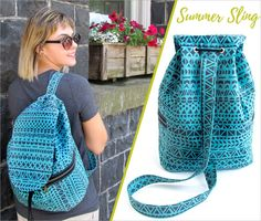 Summer Sling Bag | Sew4Home