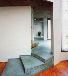 #concrete #floor #stairs