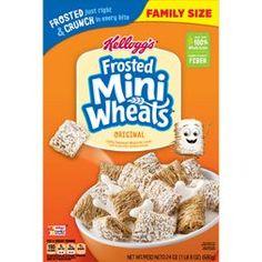 MiniWheats Breakfast Cereal - Kellogg's