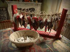Un marché de Noel en préparation...