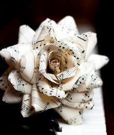 music sheet - rose