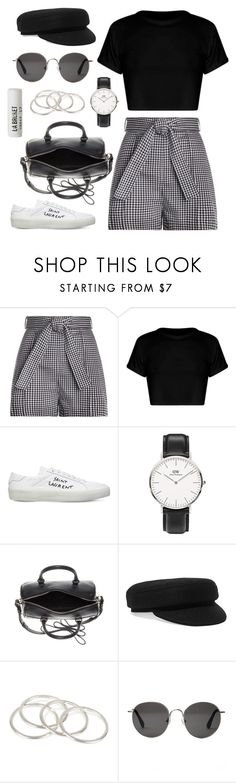 """""""#277"""" by anadaily ❤ liked on Polyvore featuring Zimmermann, Yves Saint Laurent, Daniel Wellington, Isabel Marant, Vanessa Mooney, The Row and L:A Bruket"""