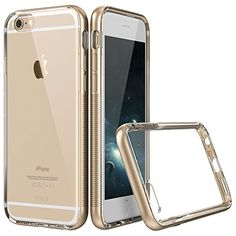 iPhone 6 Plus Case, ESR the Defender Series iPhone 6 Plus Hybrid Protective Case Soft TPU Bumper [Scratch-Resistant][Shock Absorbent][Perfect Fit][Anti-Slip Grip][Anti- TPU aging] Translucent Clear Back Cover for 5.5 inches iPhone 6 Plus Case [Free Gift: HD Clear Screen Protector] Hermit Gold ESR http://www.amazon.com/dp/B00V7JQ9NK/ref=cm_sw_r_pi_dp_0wdyvb00FPZ97