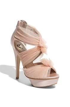 Steve Madden 'Fifi' Caged Sandal - $99.95...they are pink. I need.