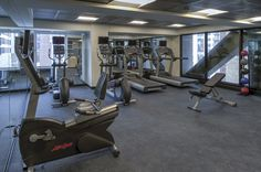 The Godfrey Hotel Chicago Fitness Room | Building The Godfrey Hotel