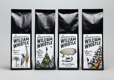 The Adventurous Blends of William Whistle — The Dieline