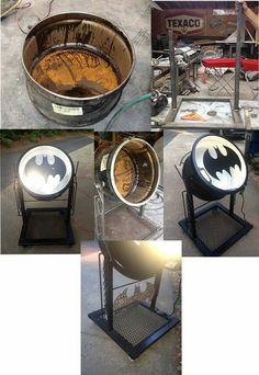 Home made bat signal