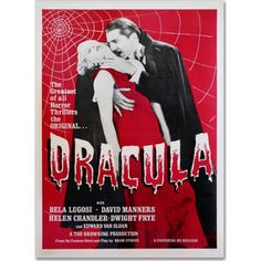 Trademark Fine Art Dracula Canvas Art by Vintage Apple Collection, Size: 22 x 32, Multicolor