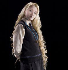 Luna Lovegood in her school uniform from the Half Blood Prince