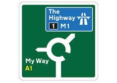 Design Museum exhibition celebrates 50 years of British road signage.