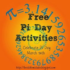 Great Pi Day activities for all ages! Funny Pi Day comics, yummy food themed problems, and plenty of creative π math for everyone.