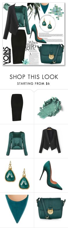 """""""Yoins IX"""" by nerma10 ❤ liked on Polyvore featuring Christian Louboutin, Accessorize, MustHave and yoins"""