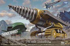 Takara / Tomy - Mole - Thunderbirds Are Go - the 2015 CGI version of Thunderbirds